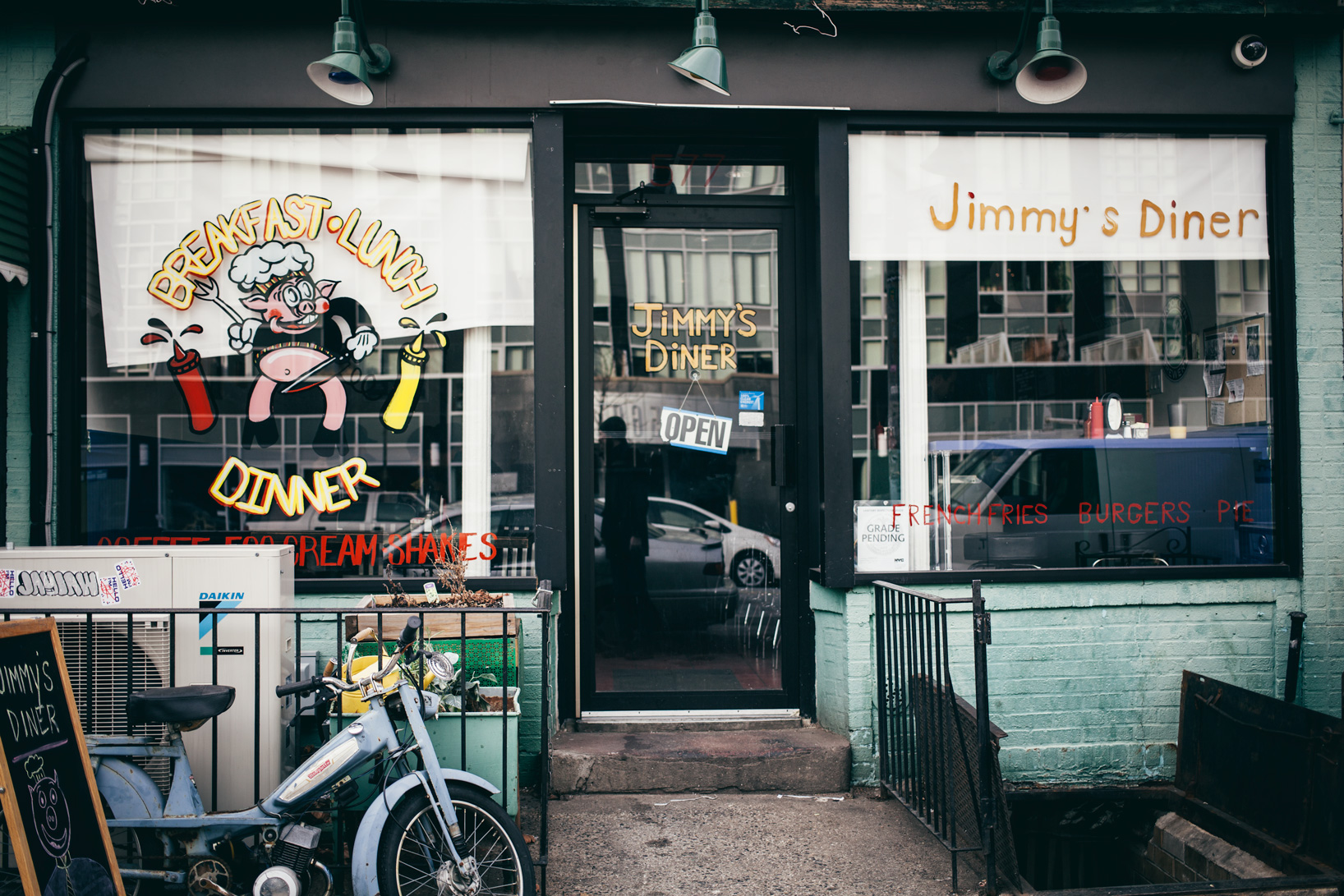 The Brunch Diaries: Jimmy's Diner.