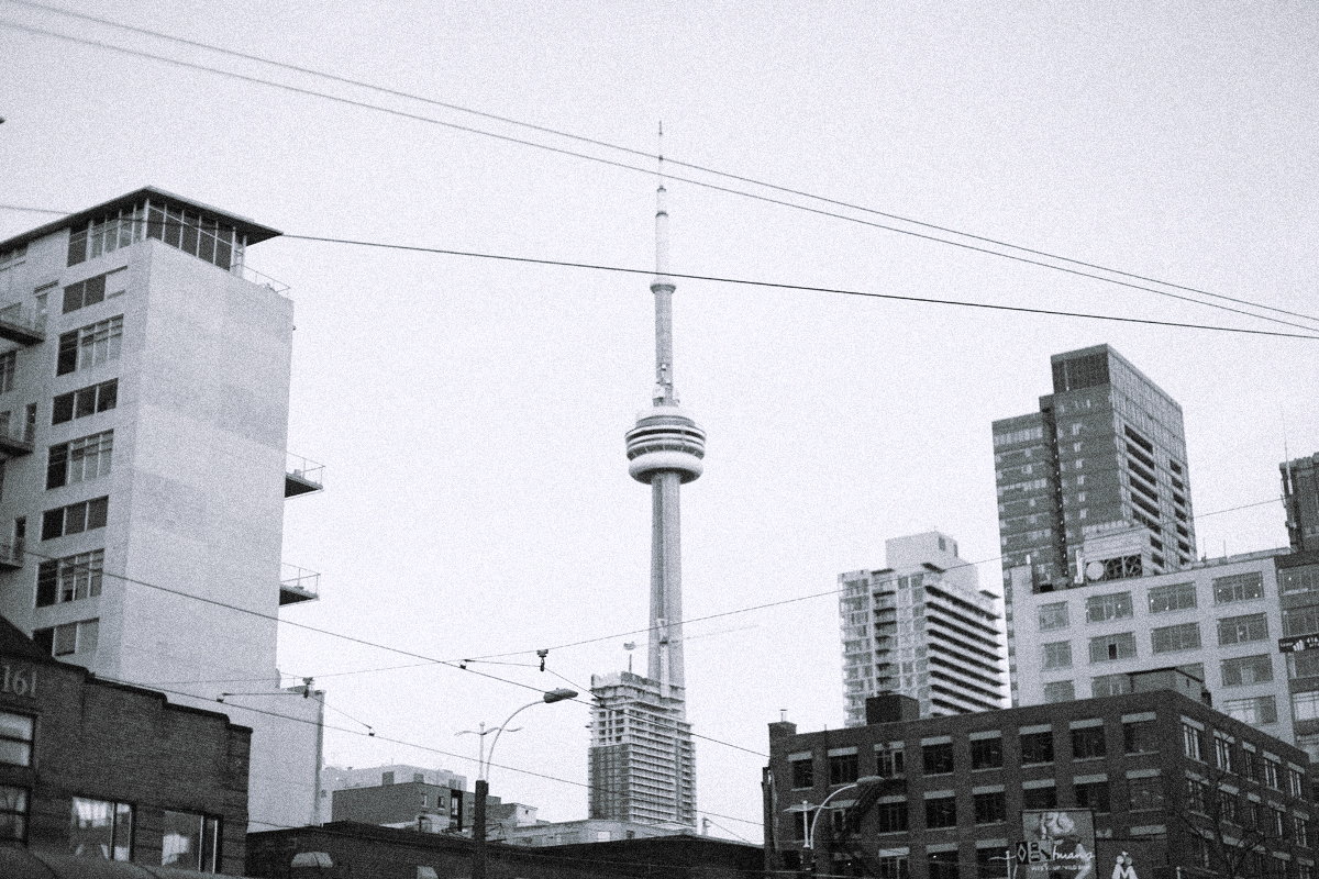 Candid travel moments: Toronto.