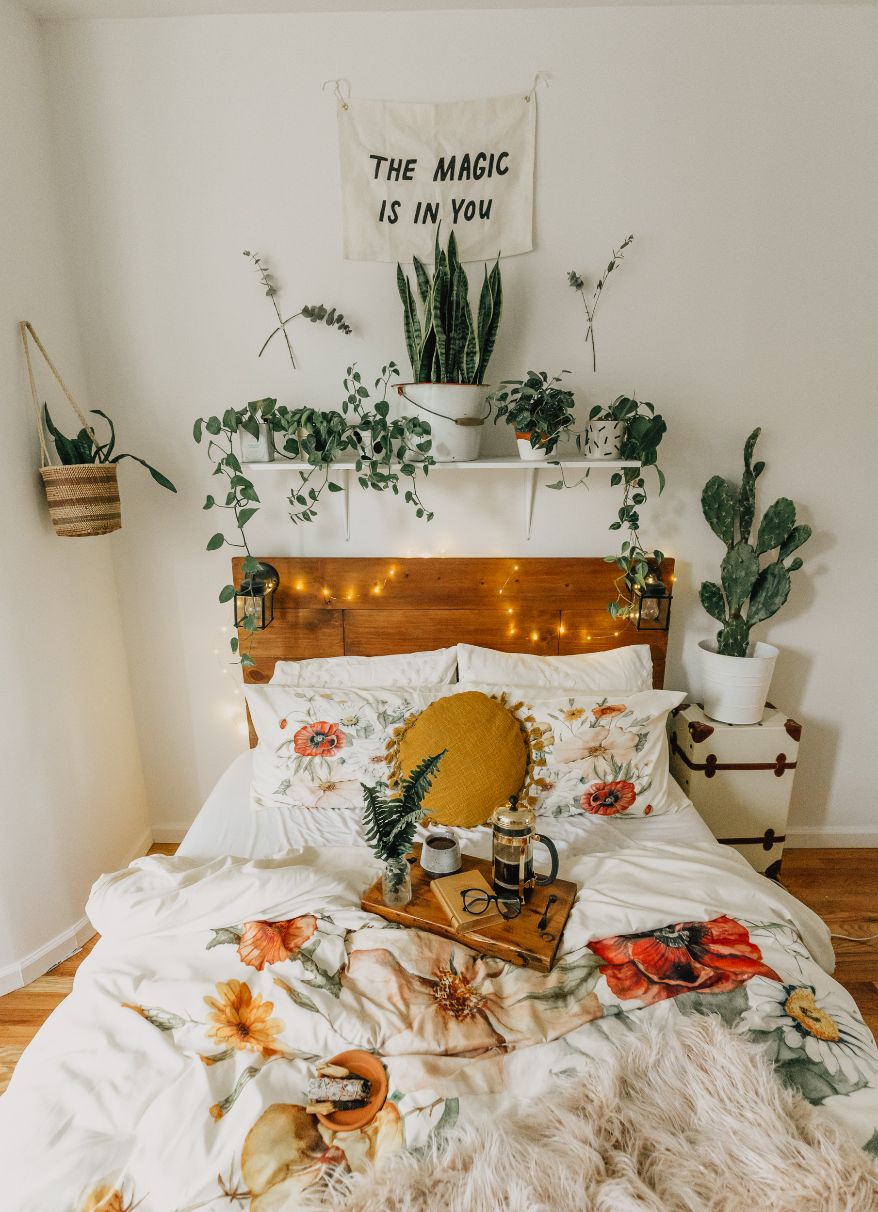 Transitional Fall Bedroom