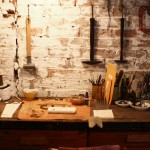 Visiting Giles & Brother's studio
