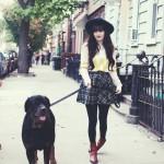 Walk the dog.