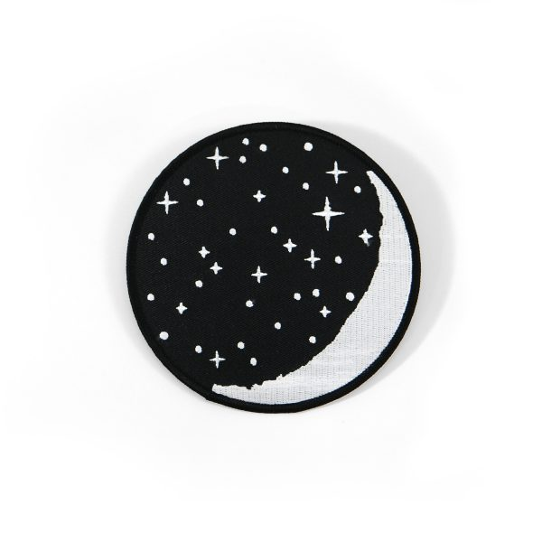WAXING MOON PATCH