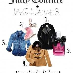 Juicy Couture gift guide.